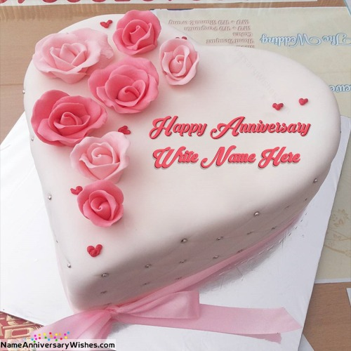 Download Free Anniversary Cake Images With Name